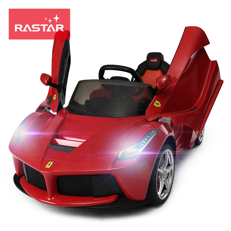 Usd 446 70 Xinghui Ferrari Children S Electric Car Four Wheeled Stroller Baby Toy Car Can Sit Remote Control Children Double Door Car Wholesale From China Online Shopping Buy Asian Products Online From The