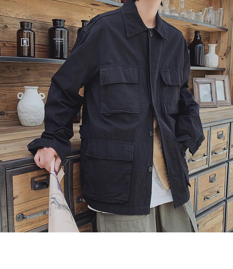 日系秋冬工装夹克外套男潮JK704p75控88