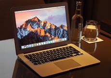 ноутбук яблоко/Яблоко MacBook воздуха mqd32ch/13-дюймовый ультра-тонкий