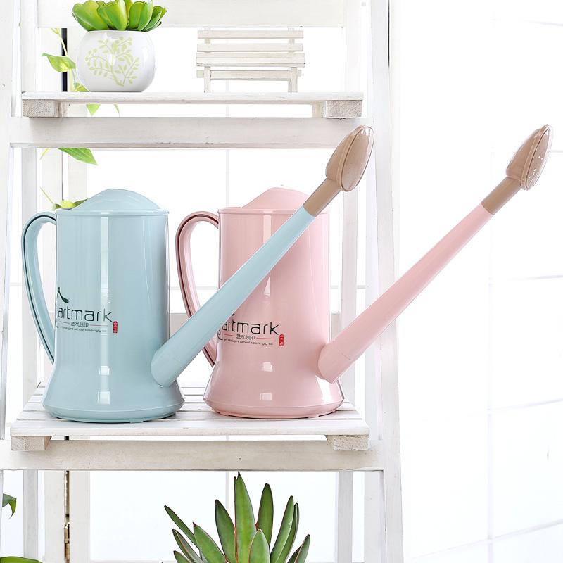 Хоботок посыпать чайник пластик домой сад искусство поддержка цветок инструмент лить нагреватель воды комнатные лить цветок лейка вода горшок головка душа горшок