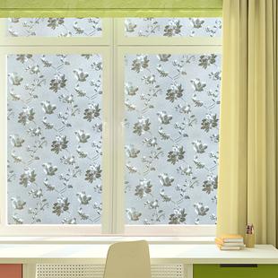 静电窗户玻璃贴纸透光不透明磨砂窗花纸