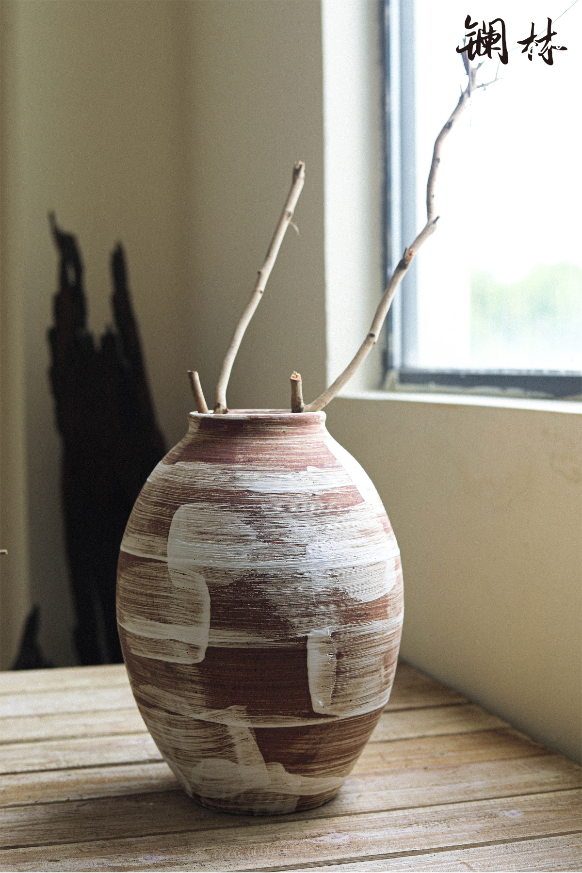 Ceramic vase coarse some Ceramic pot rural wabi-sabi wind restoring ancient ways flower arranging furnishing articles soft outfit home sitting room adornment of home stay facility
