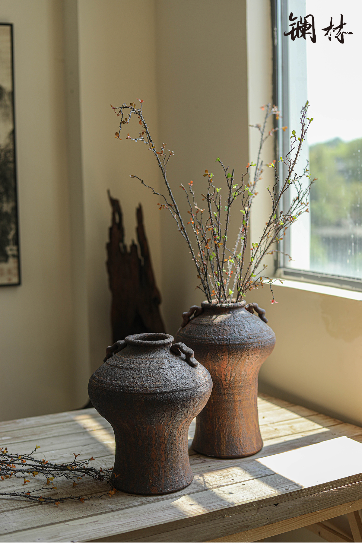 New Chinese style simulation branches for the coarse branch bearing child decorate restoring ancient ways is a thorn deadwood wabi-sabi wind soft outfit of a home furnishing articles