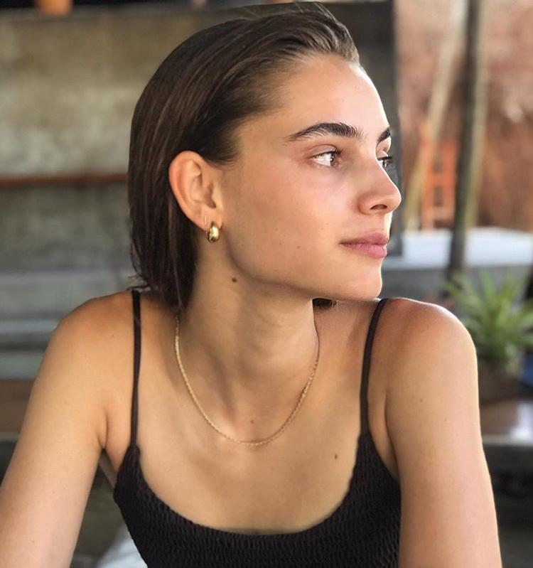 法国设计师款显脸瘦小圈水滴耳环扣冷淡风耳坠精緻气质金属风详细照片