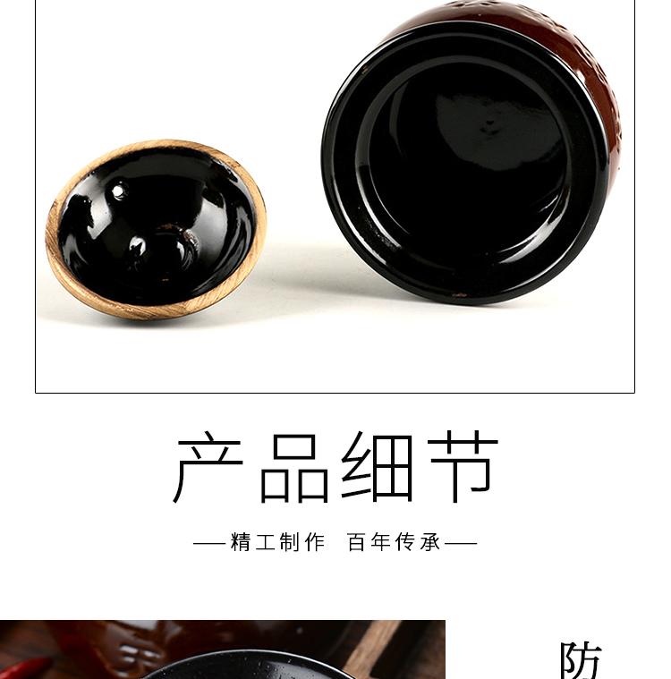 瓦罐煨汤商用瓦罐汤小瓦罐小号带盖子土瓦罐陶瓷江西煨汤小罐子汤罐详细照片