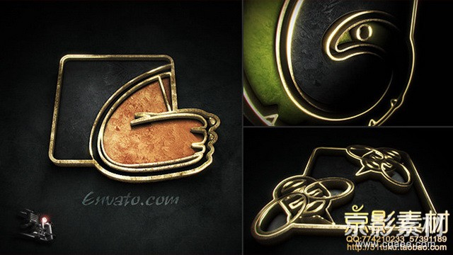AE模板-震撼史诗电影LOGO标志展示模板工具包Cinematic Logo Toolkit Pro