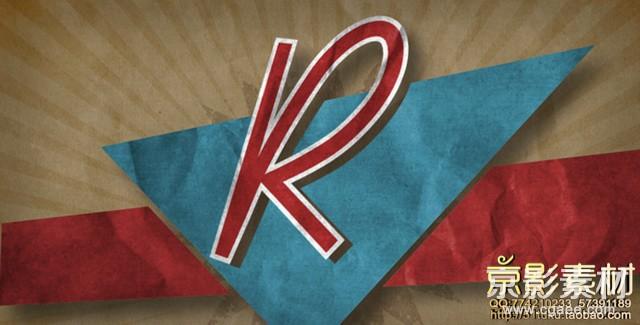 AE模板-复古怀旧风海报宣传图片展示片头 Rockabilly
