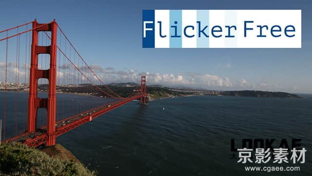 FCPX插件 Flicker Free FxPlug-视频去闪烁移除插件中文/英文