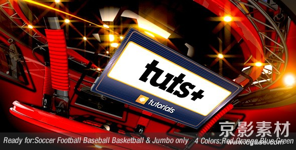 AE模板-足球体育节目电视包装片头 Multi Sport