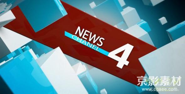 AE模板-新闻频道栏目包装片头 News Channel