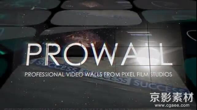 FCPX插件 ProWall v1-3D视频墙效果插件-中文/英文-Final Cut Pro X 插件