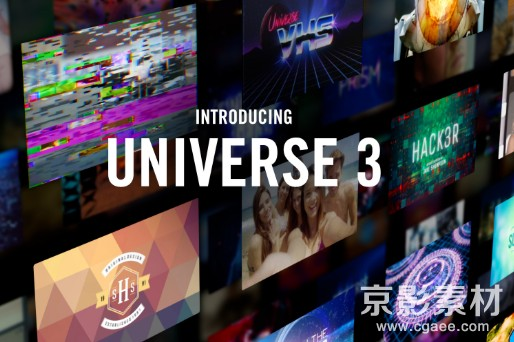 Red Giant Universe 3.2.1 Win/Mac红巨星宇宙特效插件Ae/PR/FCPX/OFX