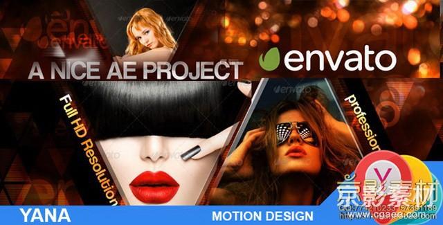 AE模板-时尚之都魅力秀宣传展示片头 Fashion City