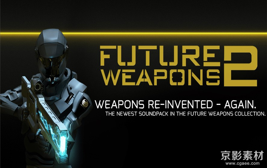 高科技未来科幻武器音效素材-Future Weapons 2