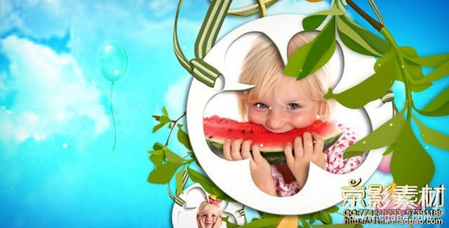 AE模板-魔幻之梦儿童相册图片展示片头Magic Dream