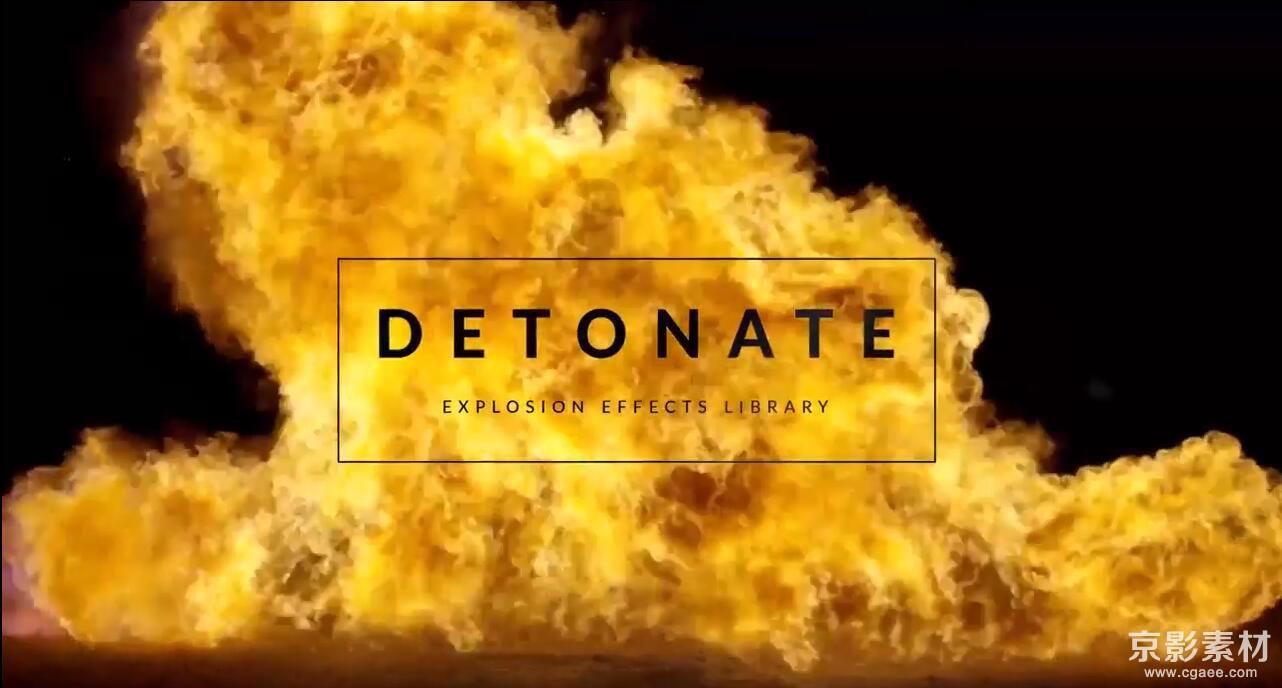 Detonate-59组火焰爆炸4K特效合成高清视频素材