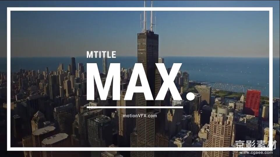 FCPX插件 mTitle MAX-30组大字片头纪录片文字标题字幕4K动画预设