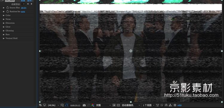 AE/PR老电影胶片损坏效果插件-Damage2.5 Win/Mac