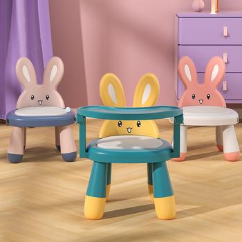 Табуретки,  Ребенок стул милый мультики есть рис небольшой стул ребенок домой сгущаться пластик доска табуретка короткая табуретка цзяо цзяо спинка стула, цена 1020 руб