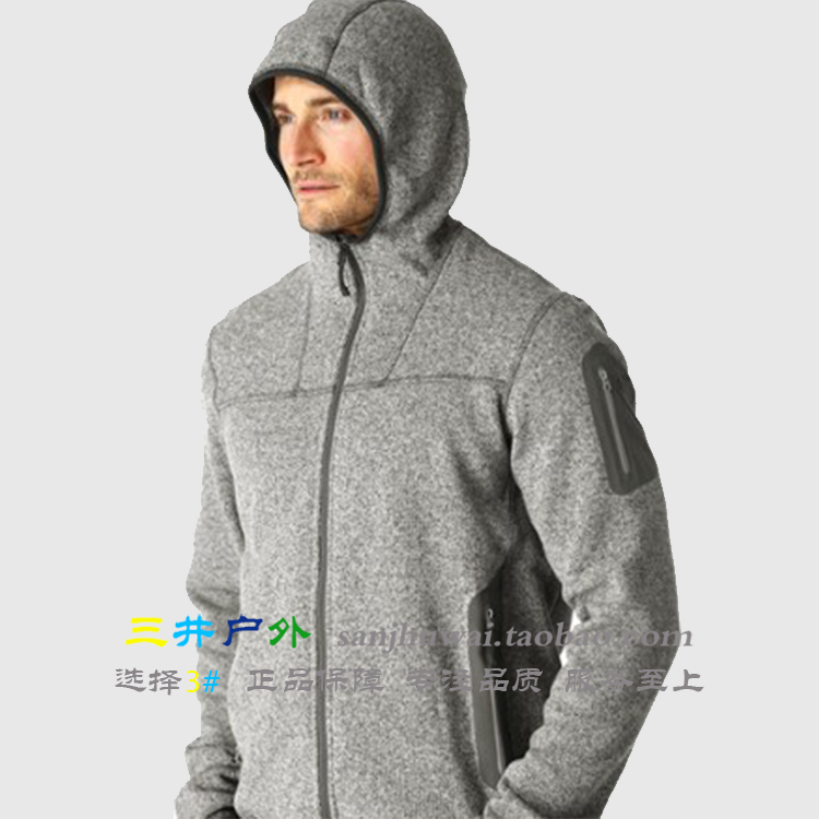 f22be48149 USD 676.63] Spot Arc'teryx Covert Hoody ancestral bird warm hood ...