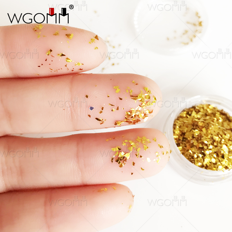 Nail Art Jewelry Is Not Standard Gold And Silver Platinum Pieces Korean Phototherapy Nails Patch Shell