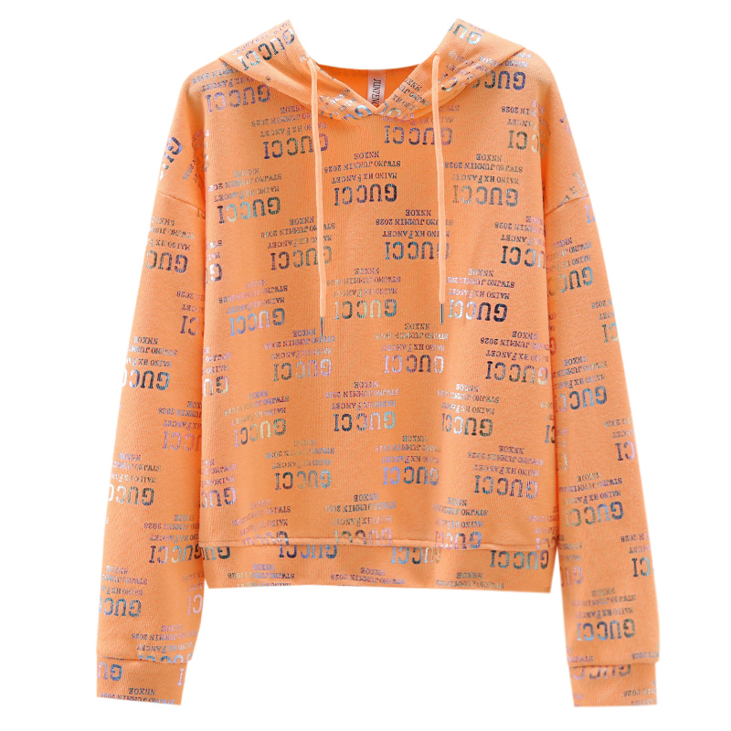Ms. Wei Yi thin hooded ins long-sleeved 2020 new Korean version of loose spring and autumn early autumn jacket tide 57 Online shopping Bangladesh