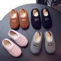 2019 осень-зима новая коллекция детские Обувь обувь на девочку Обувь горох обувь для отдыха на мальчика ботинки с утеплением 1-3 года 2 детские башмак