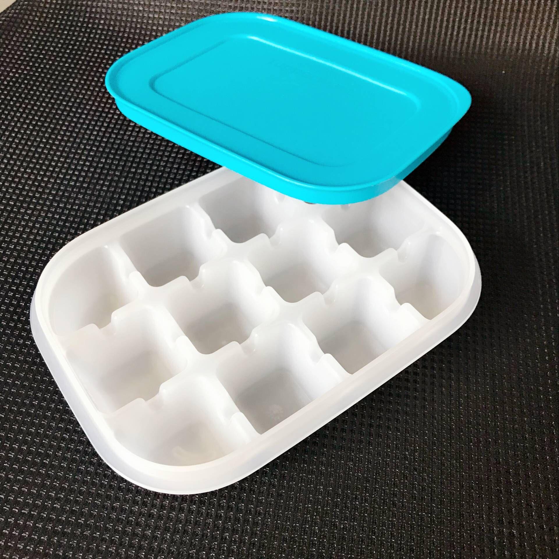包邮特百惠 酷趣冰格冰箱冷藏冷冻鲜制冰格 鸡汤骨汤高汤冰块12格