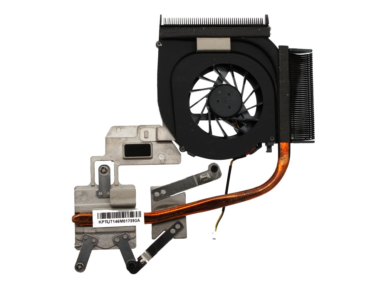 新到货50pcs 惠普HP Pavilion dv7-3065DX DV7-3000 AMD Cooling Fan + HeatSink 535441-001散热模组 风扇