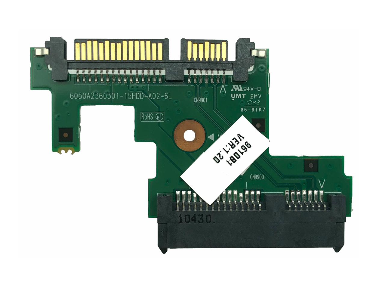 全新原装 惠普HP 620 625 420 425 硬盘接口小板 6050A2360301 609122-001