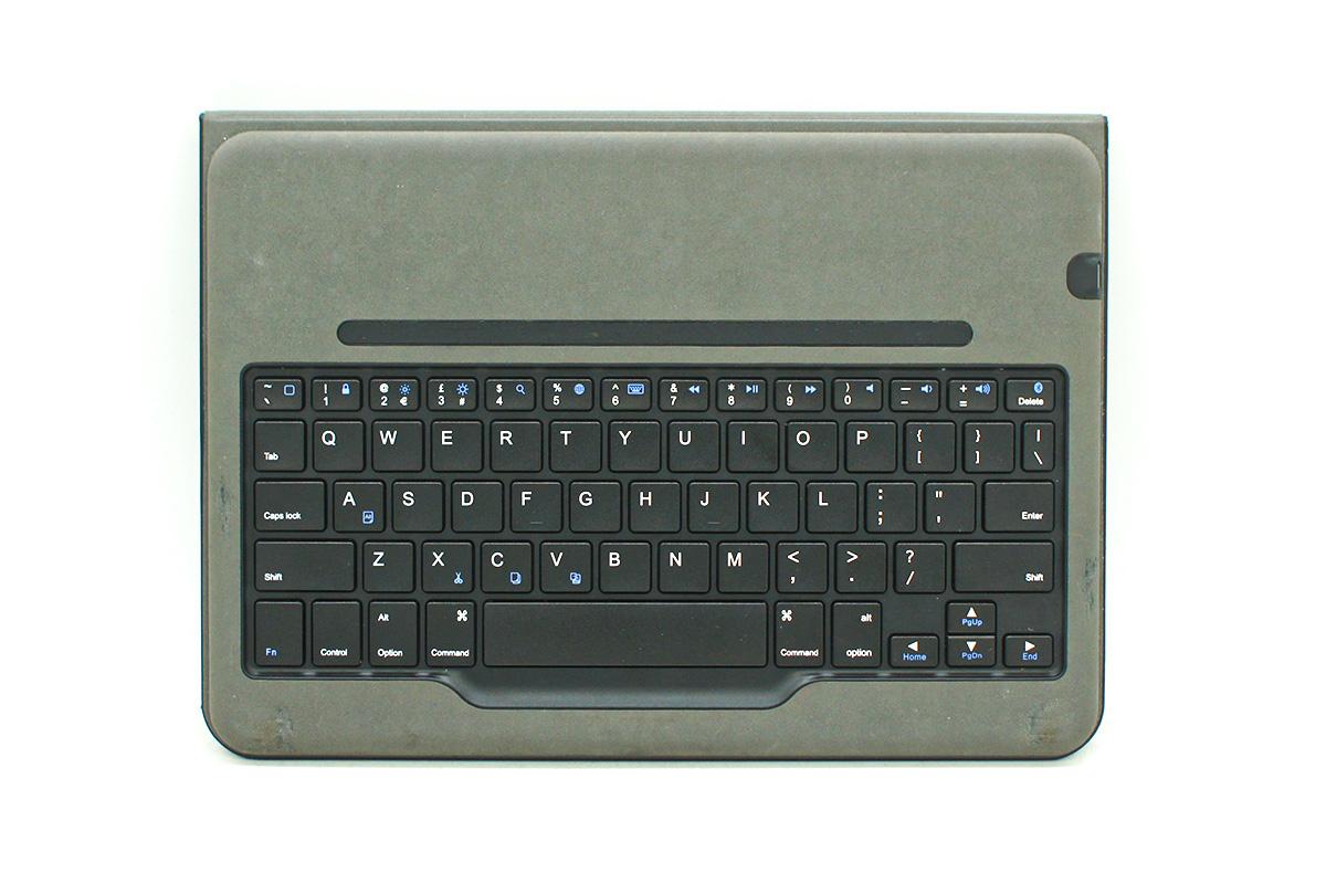 安可蓝牙无线键盘保护套 具有自动睡眠/唤醒功能的智能保护套ANKER A7722 Bluetooth Folio Keyboard Case for iPad Air 2