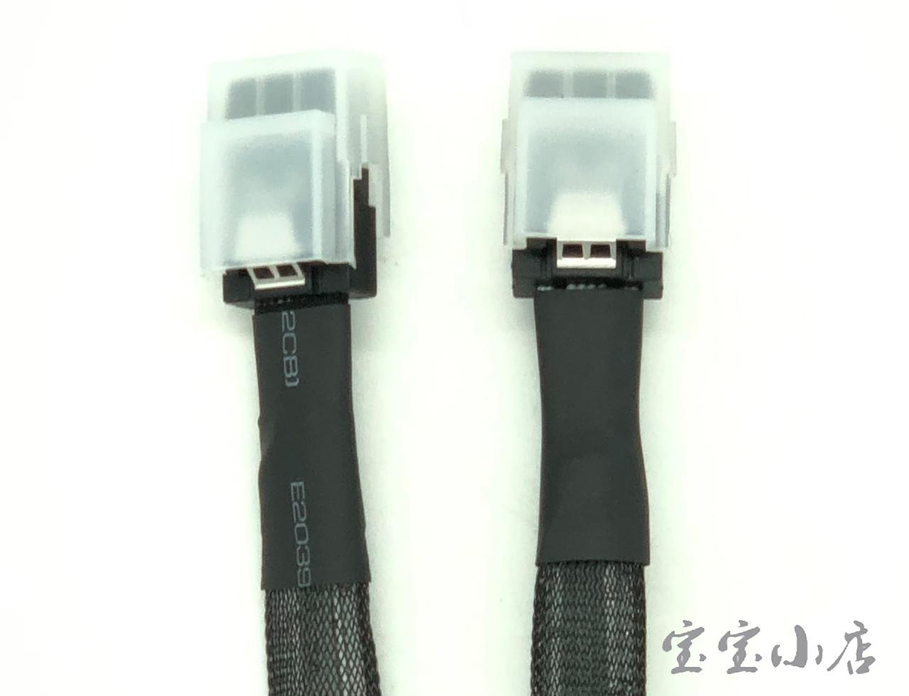 新到货76pcs 惠普HP Mini SAS SFF-8087 to Mini SAS SFF-8087 89cm Cable 663139-001 667277-001 连接线