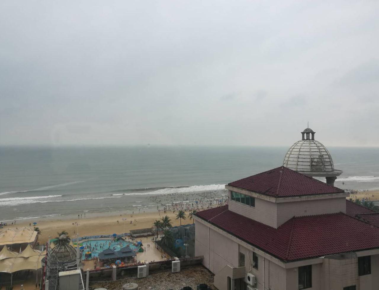 阳江海陵岛第一天,闸坡冠华大酒店。
