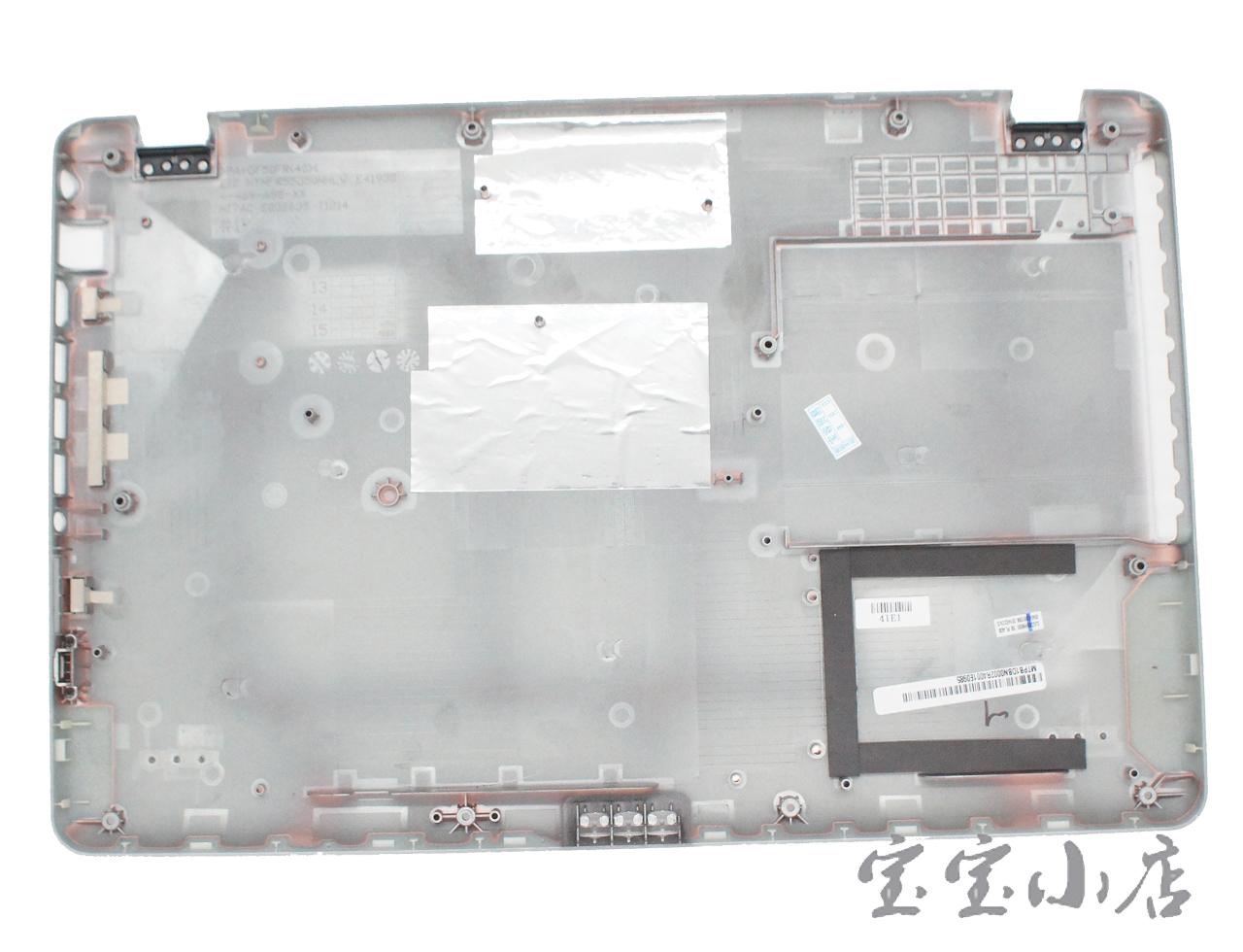 """新到货100pcs 索尼Sony Vaio Fit SVF15 SVF15A18CXB 15.6""""Bottom Case Cover 3JGD6BHN000 银白D壳底壳"""