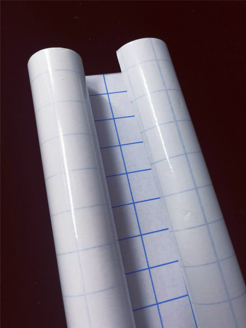 3 Rolls Book Cover Film Clear Plastic Sticky Back Self