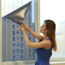 反光隔热膜遮光家用防爆膜阳光房单向透视玻璃贴膜窗户镜面防晒膜