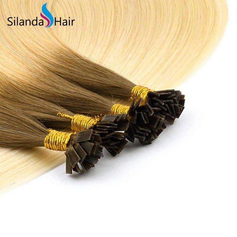 Silanda #R8/60 Pre Bonded Hair Extensions