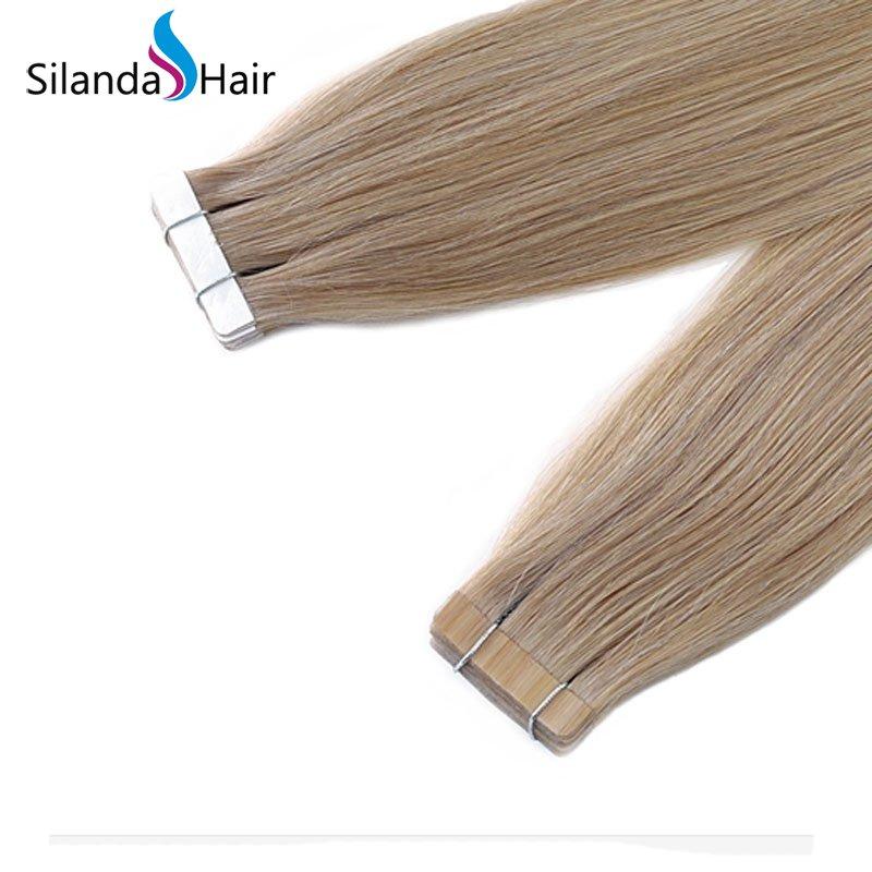 Silanda Hair #18K Luxury Remy Skin Weft