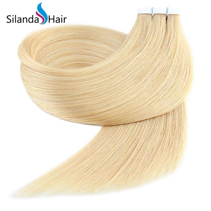 Silanda Hair #22 Luxury Remy Skin Weft