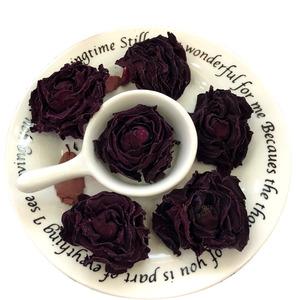 墨紅玫瑰花茶云南花冠茶罐裝特級一朵一杯玫瑰花冠茶