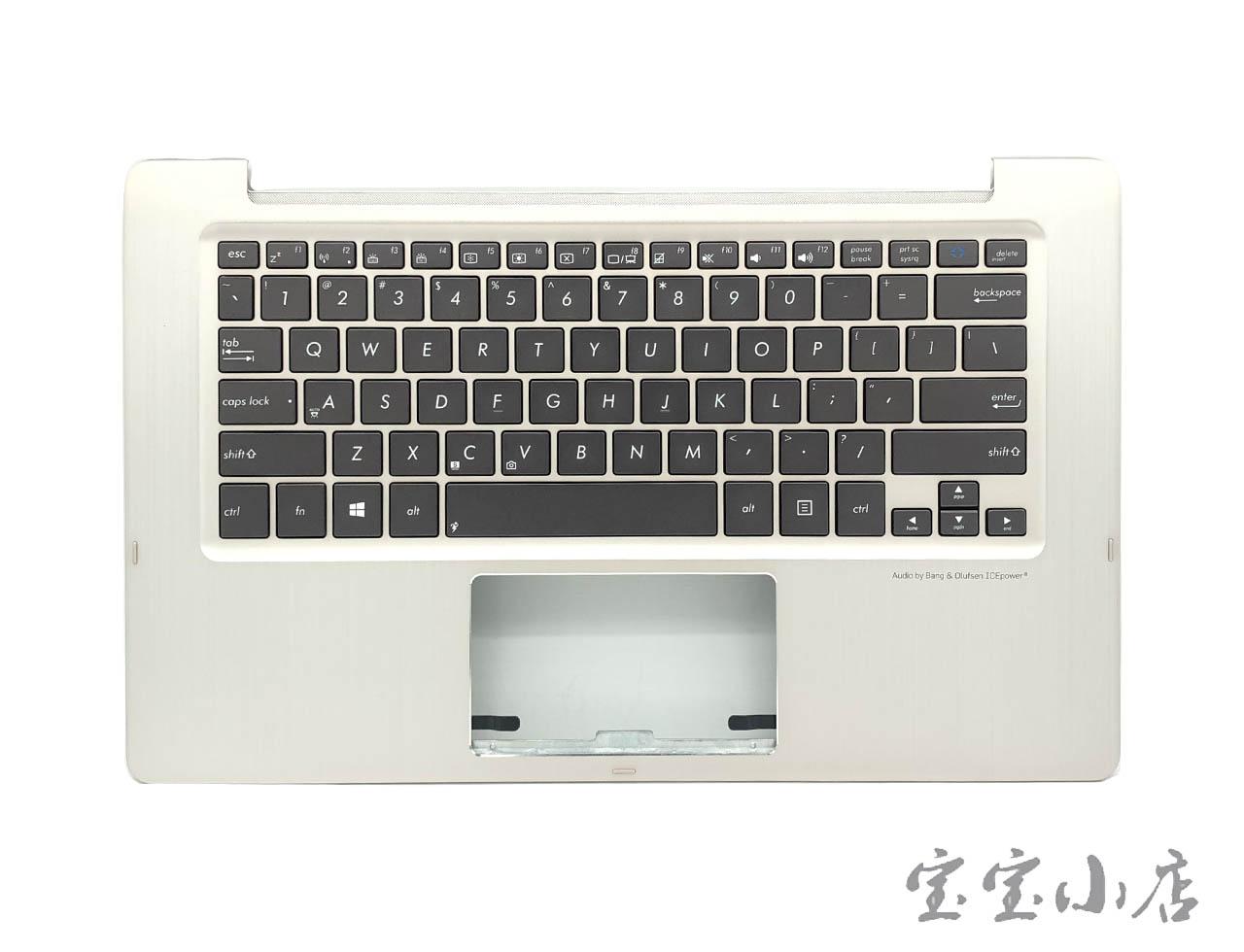 全新华硕ASUS TX300 TX300CA C壳掌托背光键盘香槟金9Z.N8JBU.001 0KN0-NY1US13 13N0-NYA0311