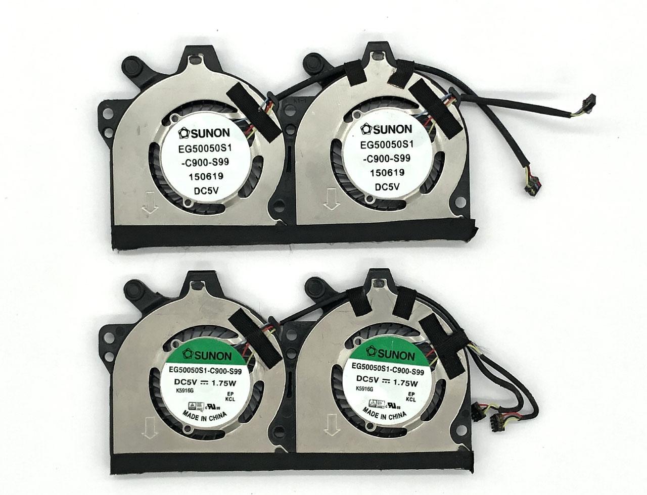 SUNON 建准EG50050S1-C900-S99 DC 5V 1.75W适配宏基ACER ACER ASPIRE R 14 R5-471T-51UN N15P6 (CB29) 散热风扇