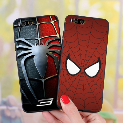 Millet note3 Mobile Shell note2 All-inclusive Soft silicone lanyard Drop-proof Tide Couple Spider-Man Captain America