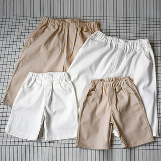 Parent-child pants, boys' pants, women's 2021 new wave, a family of three shorts, 5-point pants, summer casual beach pants