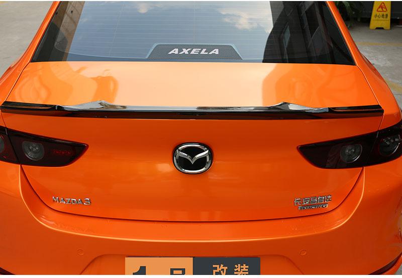Đuôi gió thể thao xe Mazda 3 2020 Kiểu đuôi dơi - ảnh 14