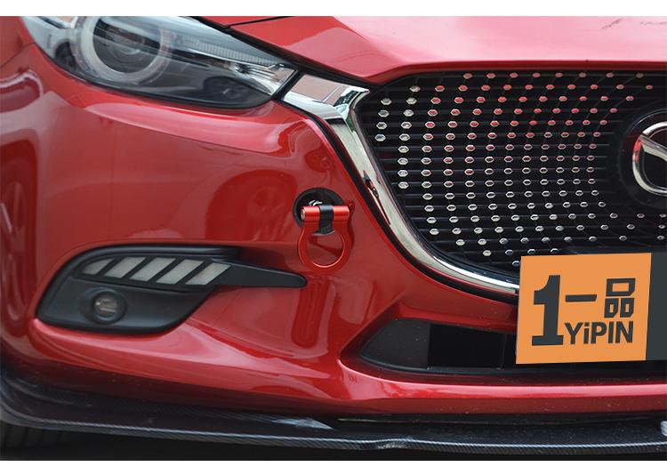 Móc kéo trang trí đầu xe Mazda 3, 6 - ảnh 13