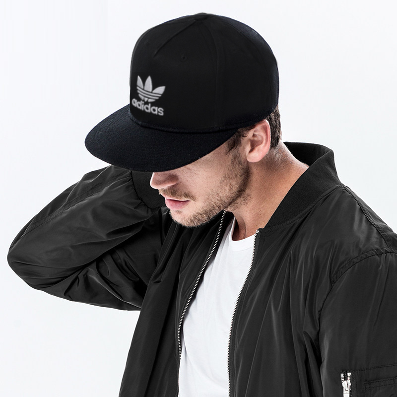 Adidas hat male clover female duckbill hat casual flat along hip-hop sports  baseball cap deaa153db2a