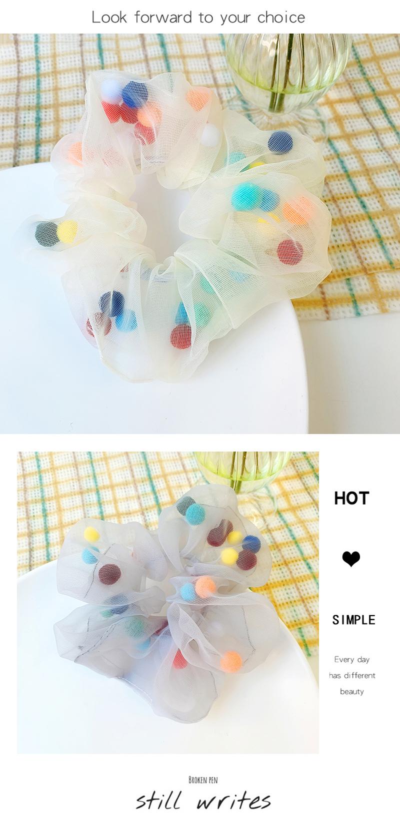 New fashion candy color elegant wild cheap scrunchies wholesale NHOF211381