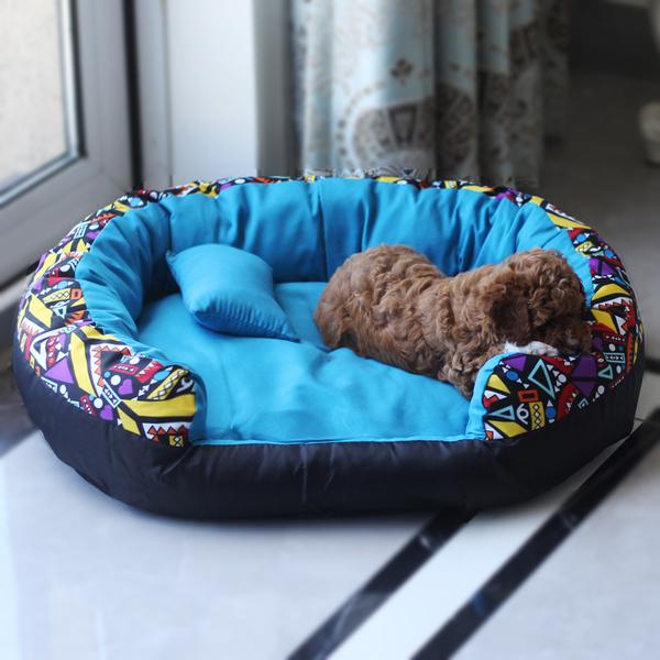 Питомник Тедди зимой съемная кровать, чем медведь домашнее животное гнездо осень-зима Четыре сезона удерживающий тепло Кошачий помет красный Питомник маленькая собака