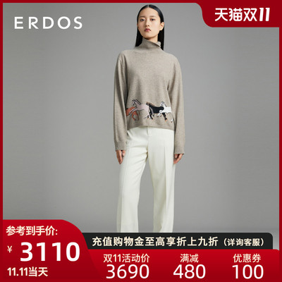 ERDOS 20 autumn winter new hig